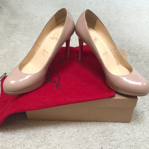 official photos 254ec 465e5 Christian Louboutin New Simple Pump 100 Size 39.5
